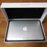 初めての11インチMacBook Air (Early 2015) 開封で感激!!