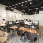 TOWN DESIGN CAFE 表参にて